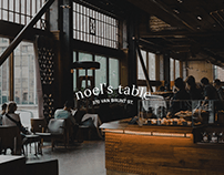 Noel's Table - Brand Identity / Cookbook