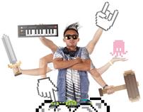 Pixelated Bass Dynasty