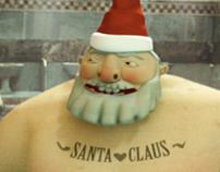 Santa Claus+Turkish Bath