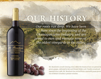 Mt Boucherie Winery History Page