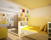 Small Living Interiors