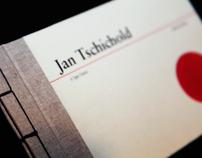 Jan Tschichold Dedication