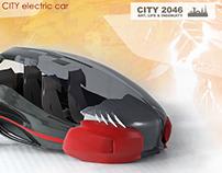 Compact CITY e-car