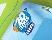 Chicco 25th - Promotional Identity