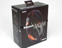Klipsch Mode M40 Headphones™ Box Art