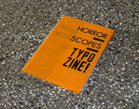 HORROR SCOPES Typo Zine!