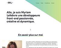 My portfolio redesign version 3