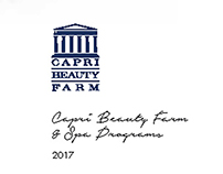 Capri Palace Spa Brochure