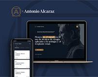 Dr. Antonio Alcaraz Brand, App, Web