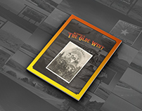 Editorial Design // The Olde West::..