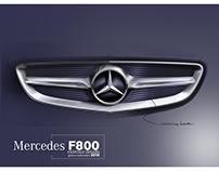 Mercedes-Benz F800 Concept - details