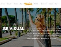 Home Slider - Nectar WordPress Theme by Visualmodo