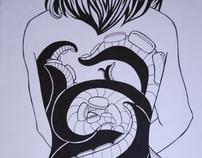 Plate #18 - OCTOPUS GIRL