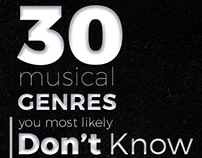 30 Musical Genres You Most Likely Don't Know