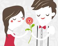 Carmen & Joe Wedding Celebration Card