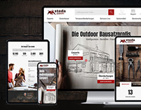 steda - corporate design, e-commerce, website & illus