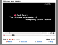 Audi R8 - Banner