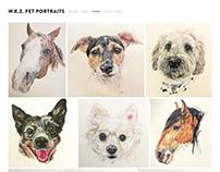 W.K.Z Pet Portraits ~ Webfolio