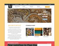 Artcave Academy Website