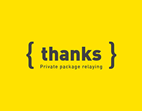 {THANKS} - Brand Design