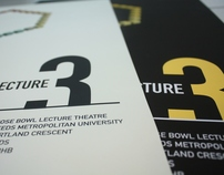 D&AD North Lecture Poster: Student Project