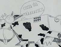 Printmaking Project - Casa da Música