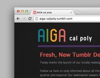 AIGA Cal Poly Tumblr