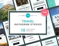 Freebies - Travel Instagram Stories