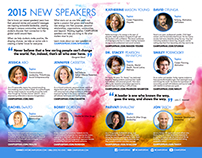 CAMPUSPEAK 2015 New Speaker Mailer