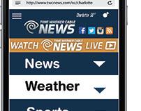 Mobile Design: Time Warner Cable News App