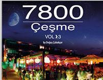 7800 Çeşme VOL 3 by Doğuş Çabakçor Album Cover