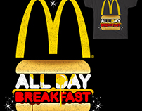 "Threadless ""All Day Breakfast "" t shirt challenge."