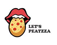 Let's Peatzza- Social Group Club Branding