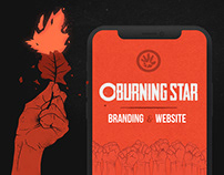 O Burning Star | Branding and Website