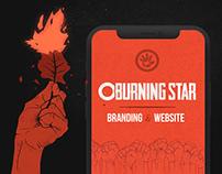 O Burning Star | Branding and Website
