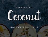 Coconut Handwritten Font