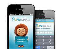 Homebank.kz iPhone App