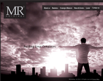 Corporte identity and  Web Site Design of MR2holdings