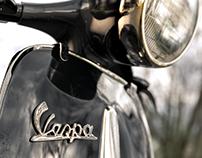 Vintage Vespa - CGI