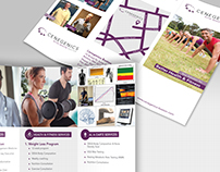 Health & Fitness Trifold Brochure