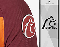 Turkish Super League Logo & Sleeve Patch Design Concept