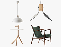 Furniture visuals
