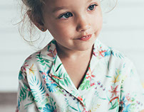 Tropical print for ZARA BABY
