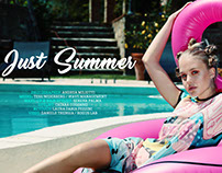 JUST SUMMER on LA PLUS BELLE Magazine - July 2017
