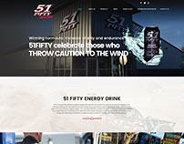 51 Fifty Drinks: UI/UX Work