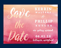 Save the Date Designs 2016