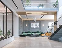 Yacine House -Modern interior Design