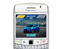 Chevrolet Sonic Blackberry App