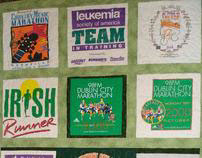 Team in Training T-Shirt Quilt