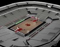 Chicago Bulls | United Center 3Ds Max 2014